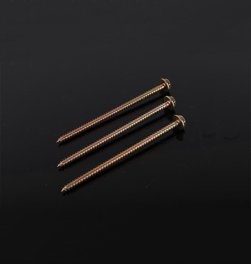 六角法兰木螺钉